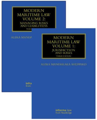 Modern Maritime Law (Volumes 1 and 2) (Maritime and Transport Law Library)